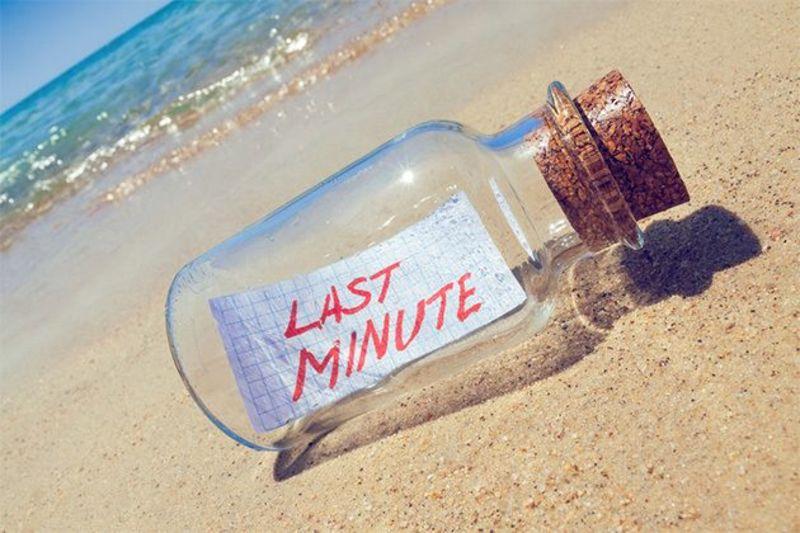 Last Minute Korting