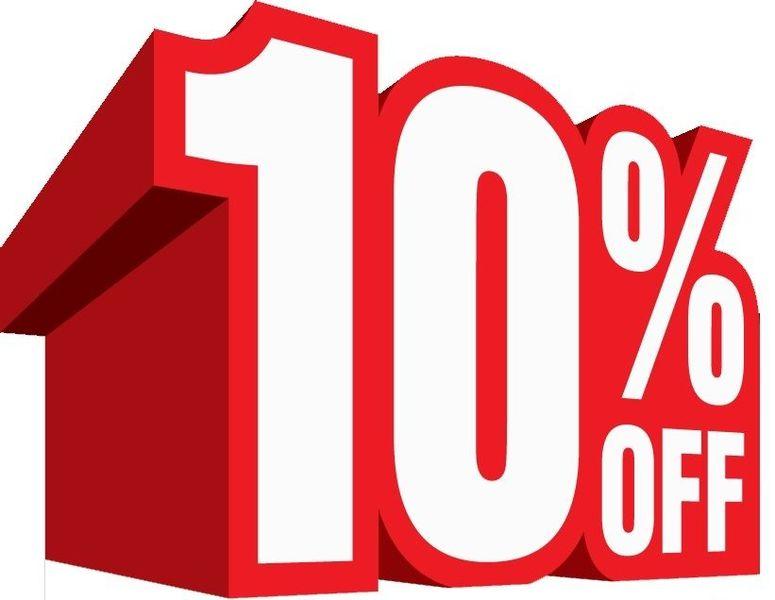 10% augustus