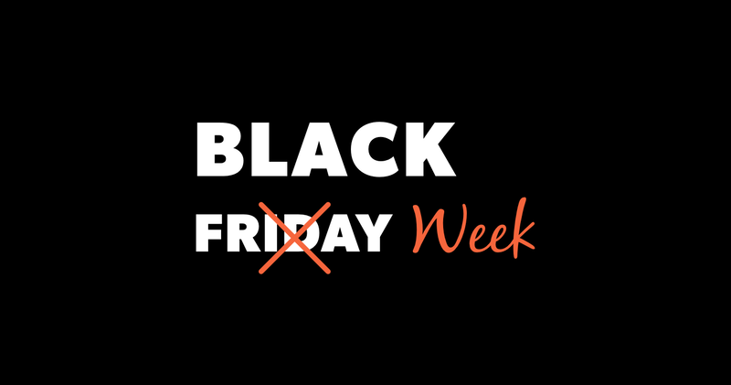 Black Friday Week Actie!