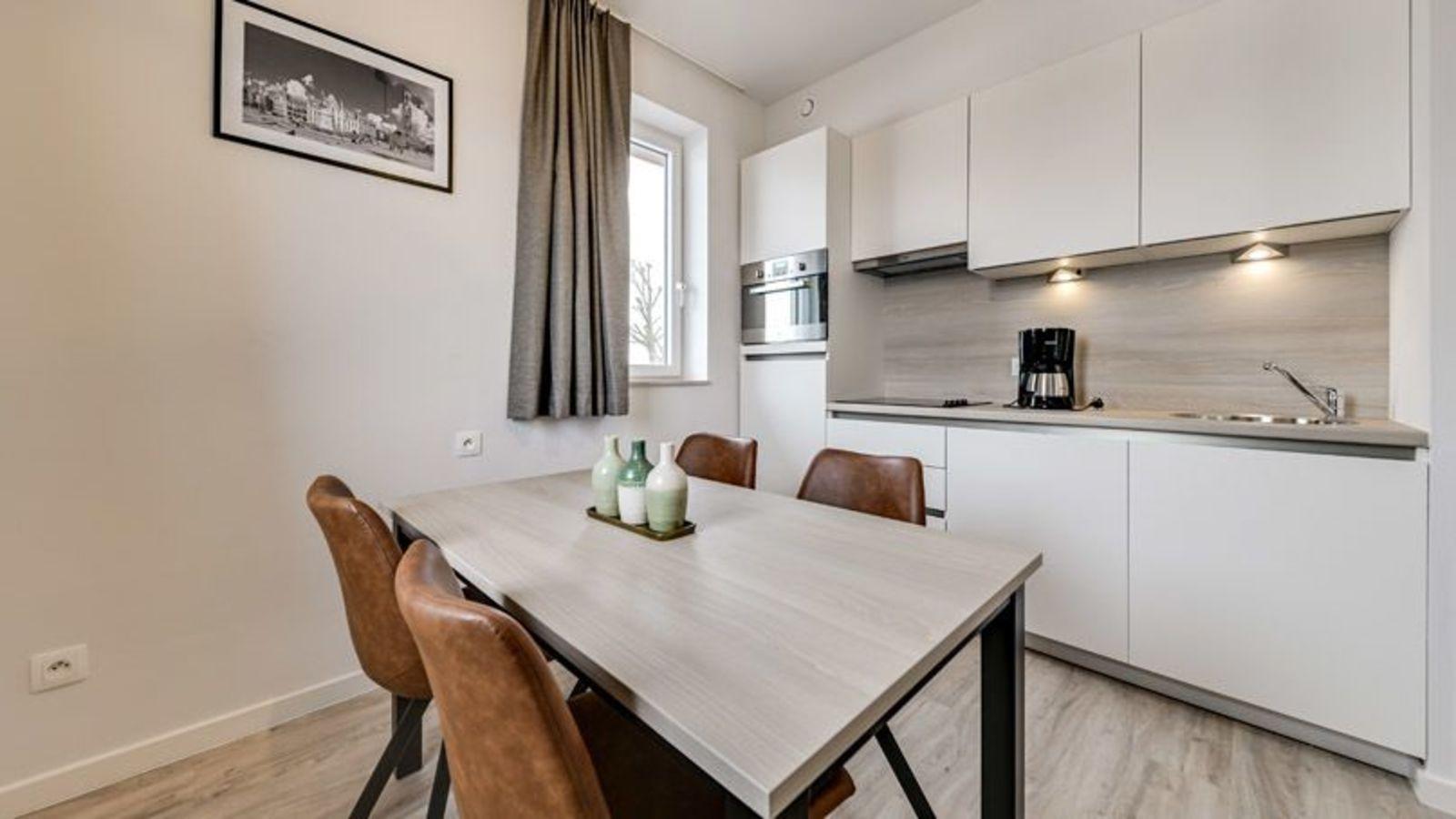 Nouveau logement de vacances pour 4 personnes avec canapé-lit et lit double