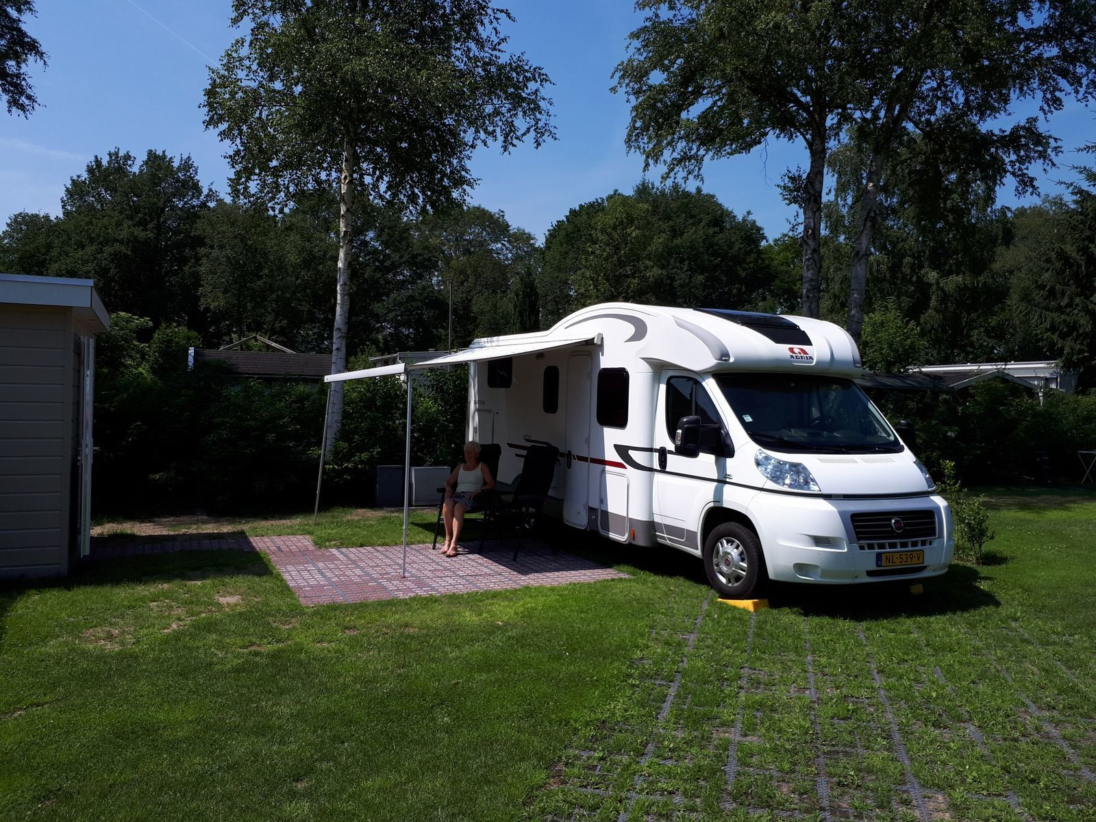 Luxe camperplaats