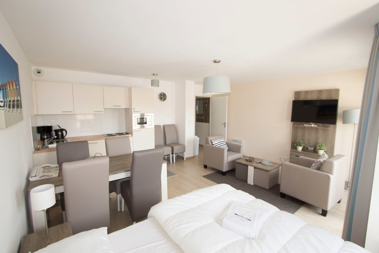 Holiday Suite for 2 people, adapted to people with a disability