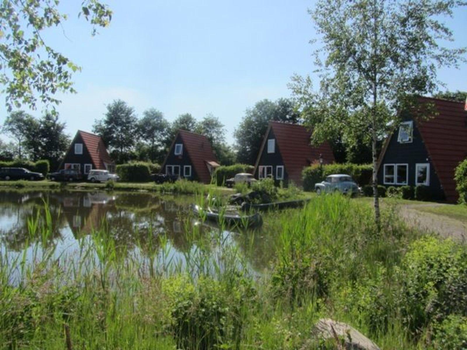 Silo met 5 vissershuisjes (30 personen)