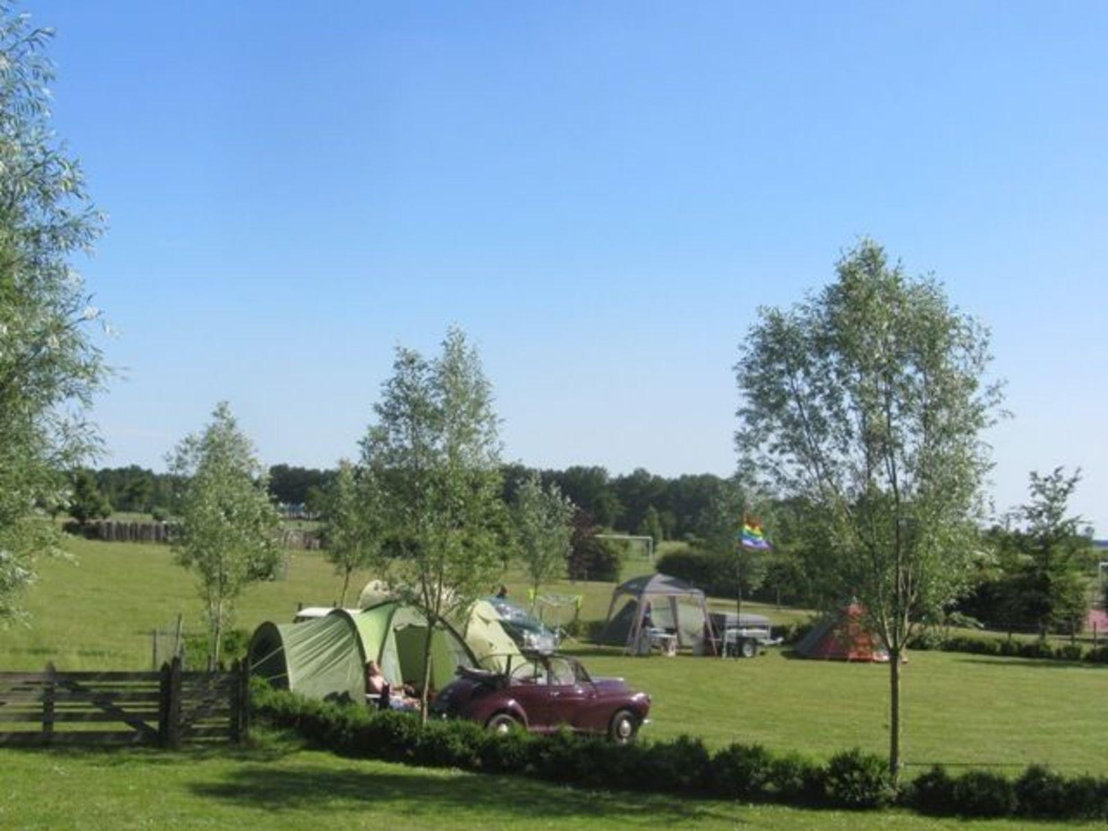 Toeristische kampeerplaats