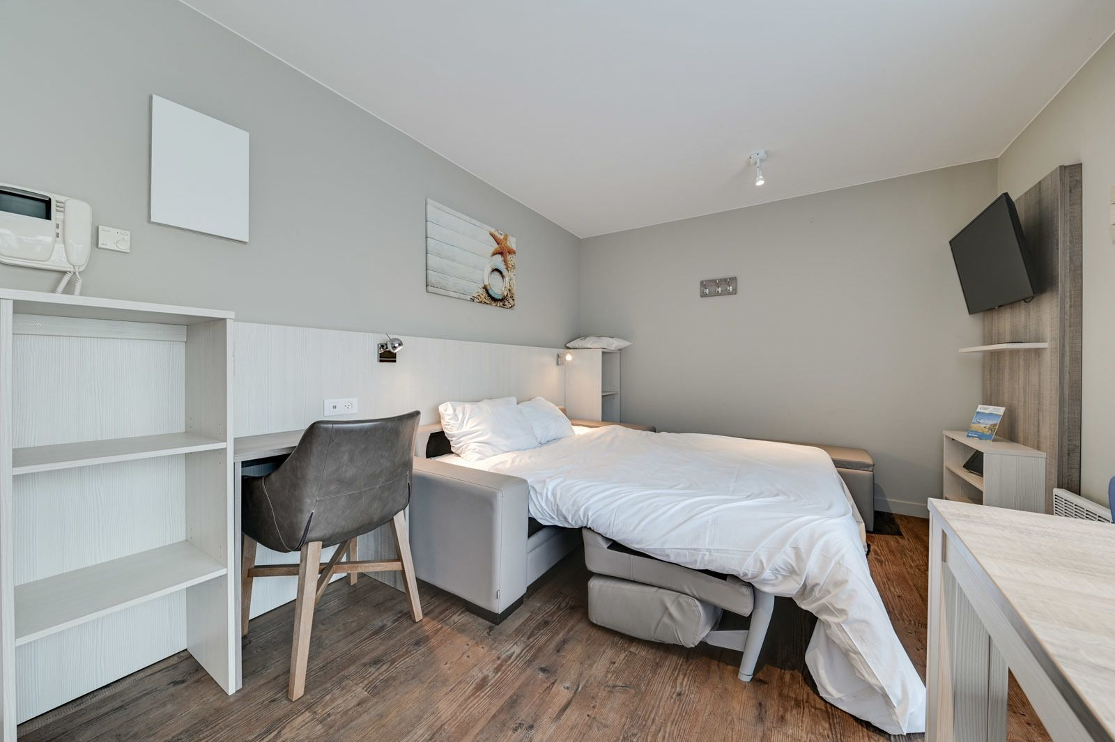 Studio for 2 people with sofa bed