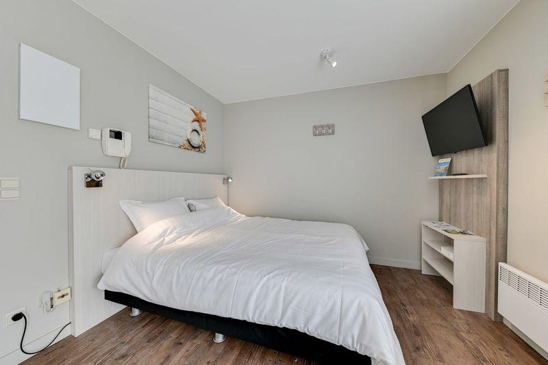 2p Studio met dubbel bed in De Haan in België