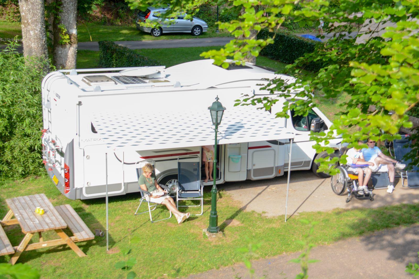 Camper plaatsen