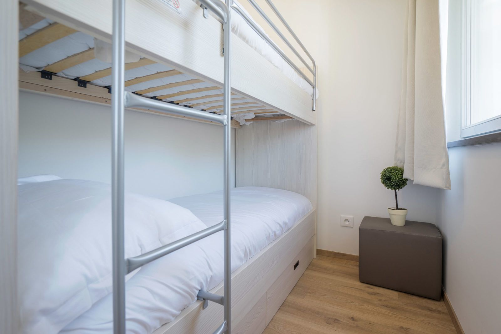 Comfortable holiday studio for 4 people with 2 sleeping corners and balcony