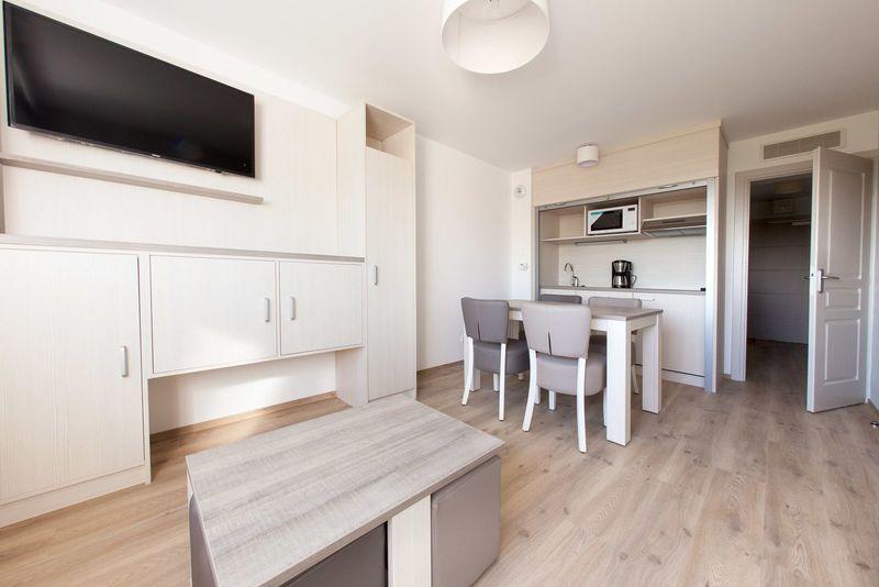4p Luxueus vakantieappartement met slaapkamer en balkon, La Brise des Dunes