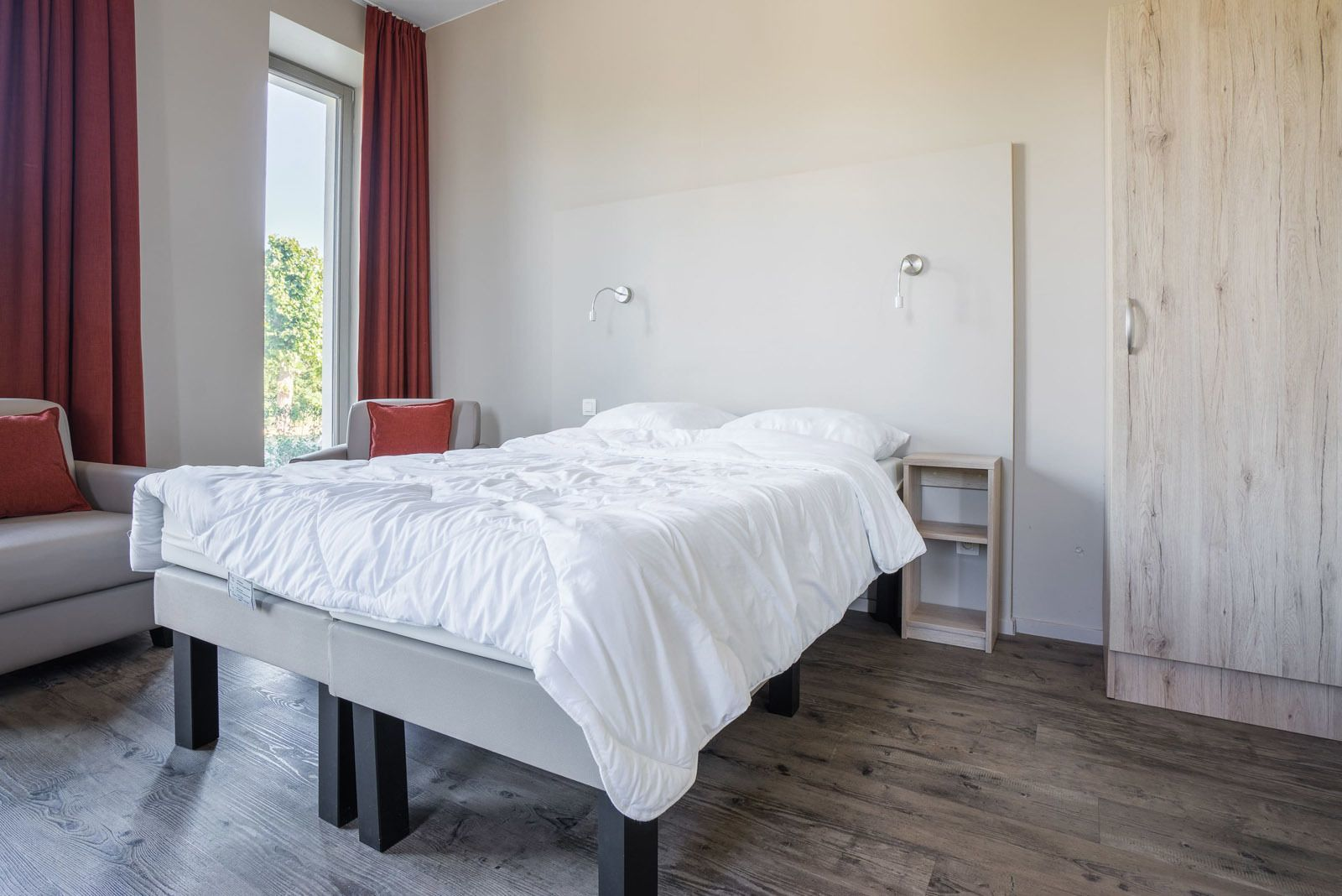 Holiday Suite for 2 people, accessible for people with a disability