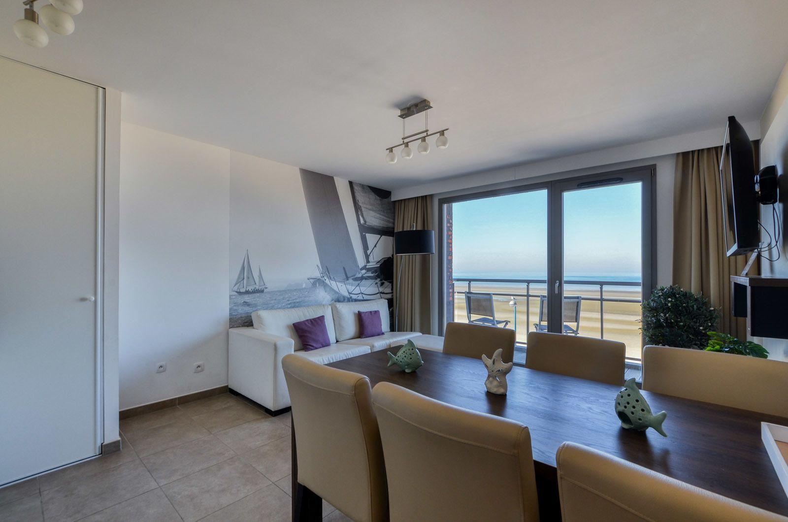 Holiday Suite pour 4 personnes avec vue directe sur mer