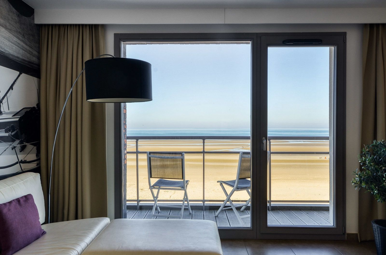 Vakantieverblijf voor 4 personen met frontaal zeezicht