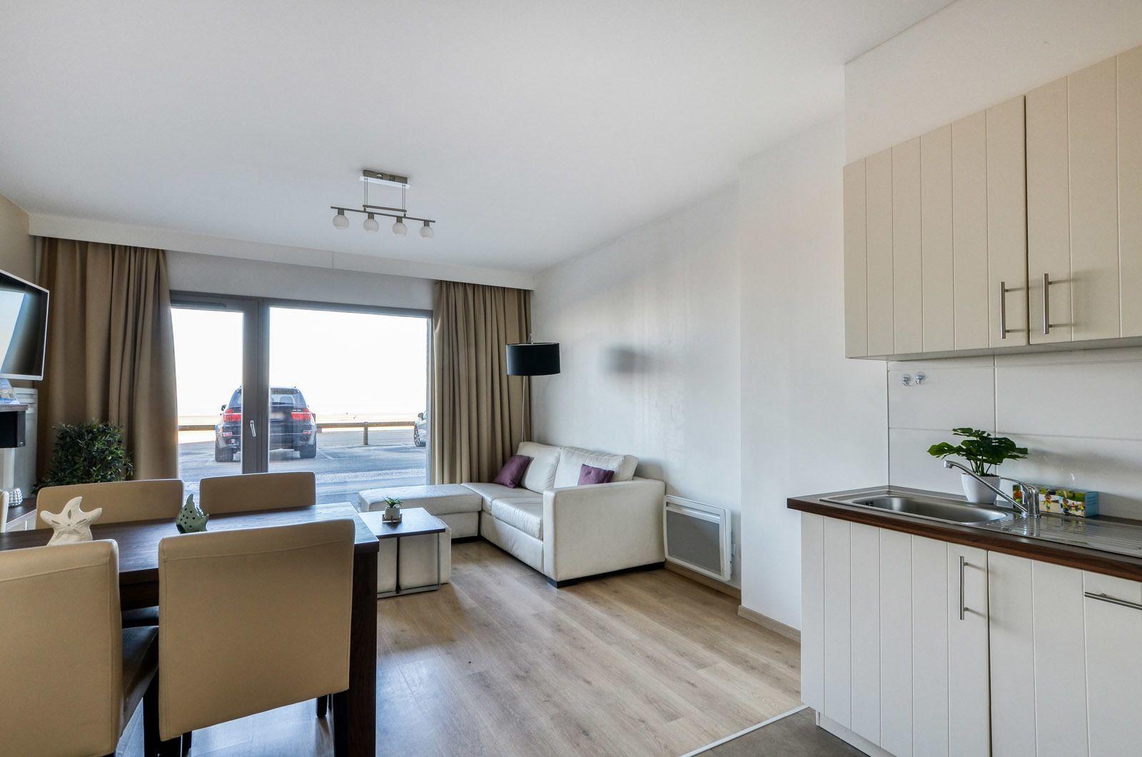 Holiday Suite pour 6 personnes au rez-de-chaussée vue directe sur mer