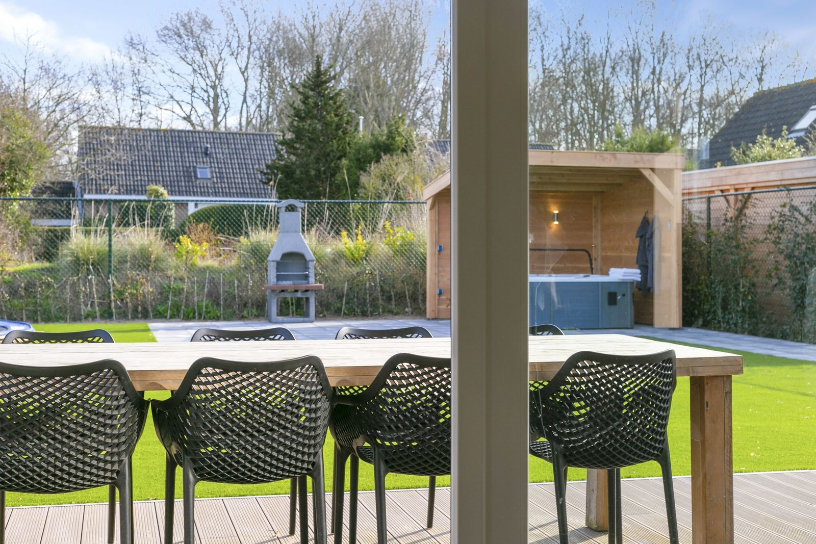 Oude Nieuwlandseweg Vakantie villa Hopper (B achterzijde) (10 personen) - Ouddorp