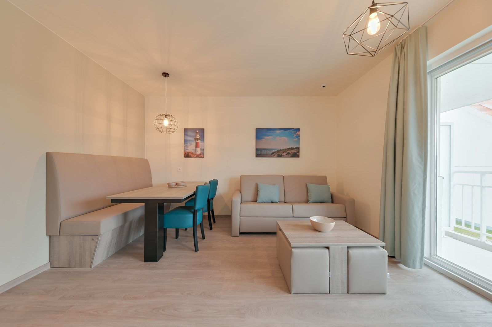 New Holiday Suite for 2 adults and 3 children with sofa bed