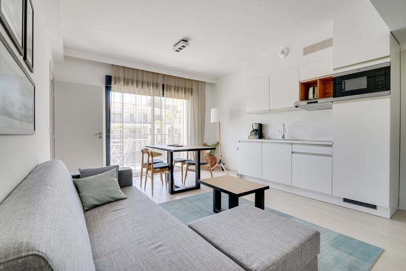 4p Nieuwe deluxe suite met 2 kamers (db en enkele bedden)