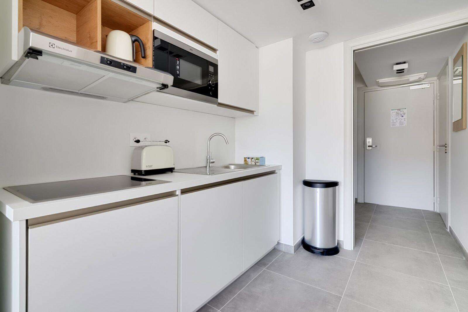 Nouveau penthouse famille pour 6 personnes avec 2 lits superposés