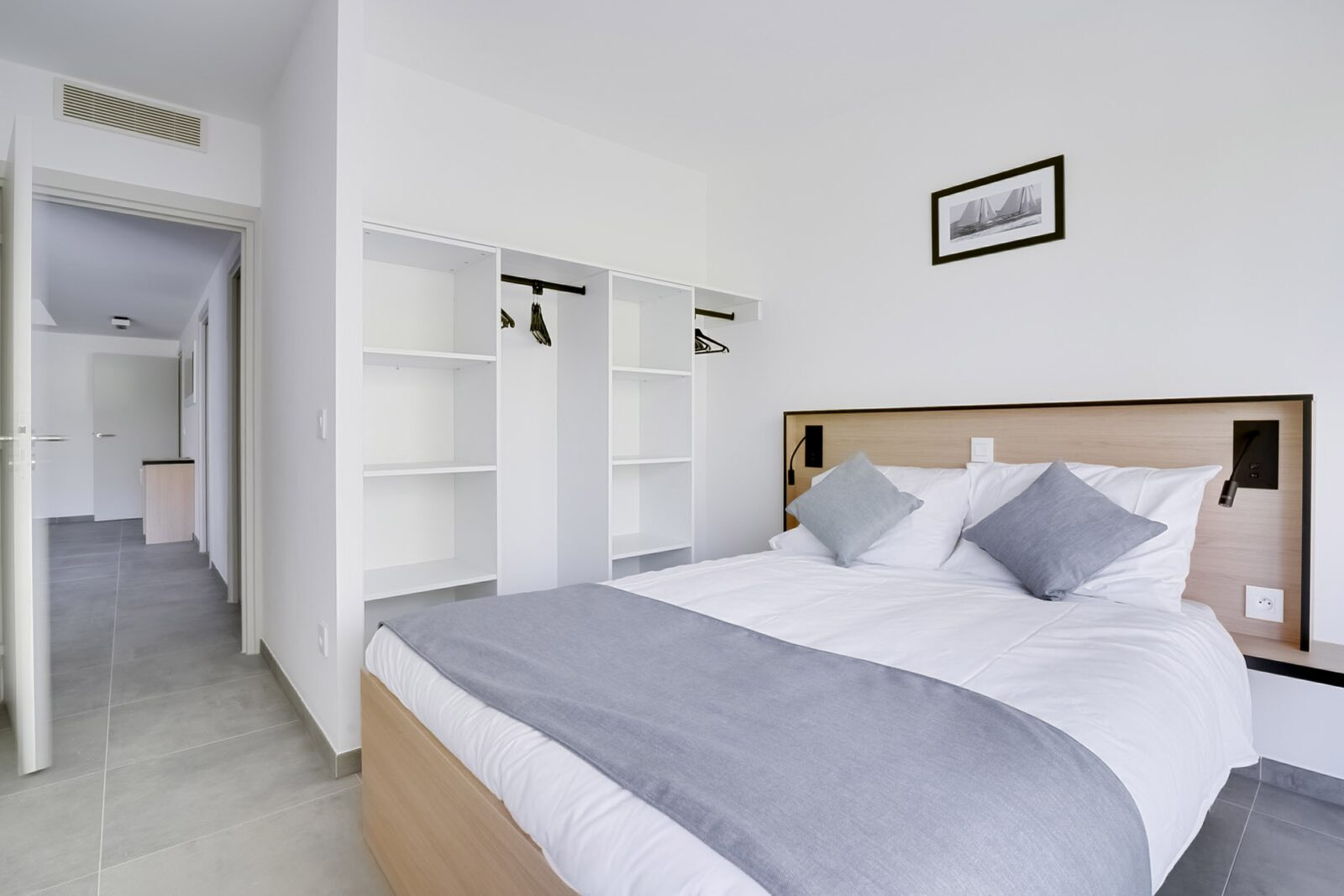 New deluxe suite for 8 people with 3 bedrooms
