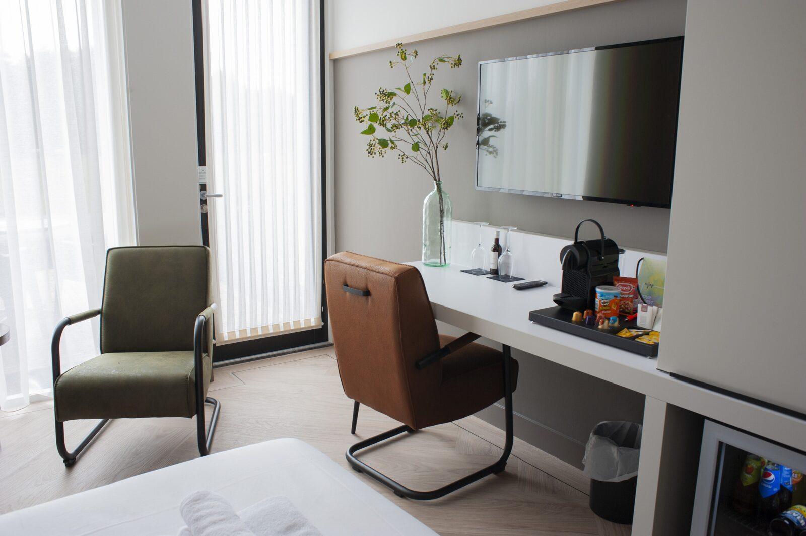 4-persoons Luxe Hotelkamer