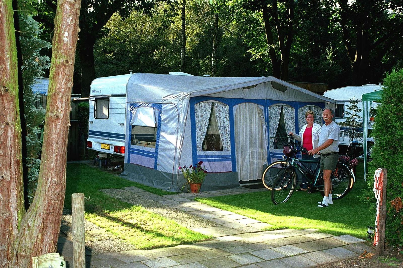 Image of Comfort Plus Camping Pitch