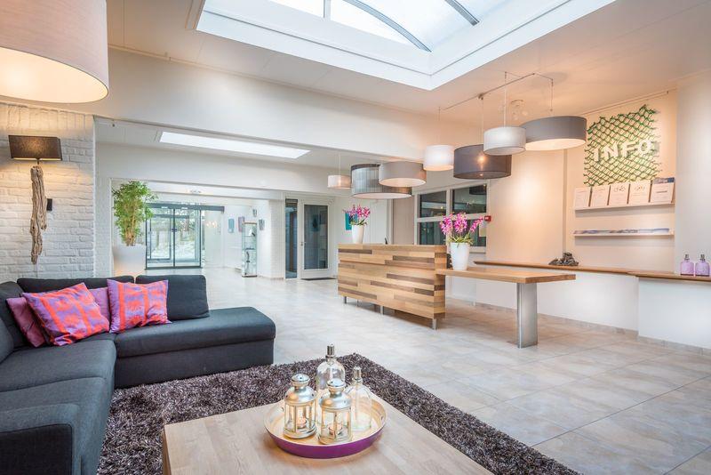 6p. Wellness op Schiermonnikoog in luxe appartement BG6 Type B in Strandresort Schier met zwembad en sauna