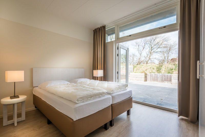 8p. luxe vakantie appartement aan zee op wellness Strandresort Schier op Schiermonnikoog (BG 8)