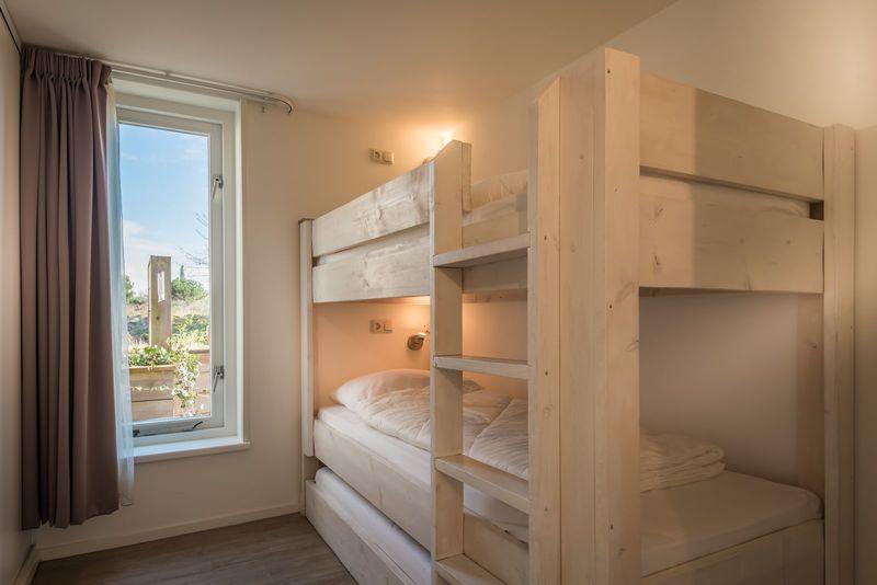 4 p. Appartement Type EEB op loopafstand strand. Op strandresort Schier met zwembad en sauna. (Schier)