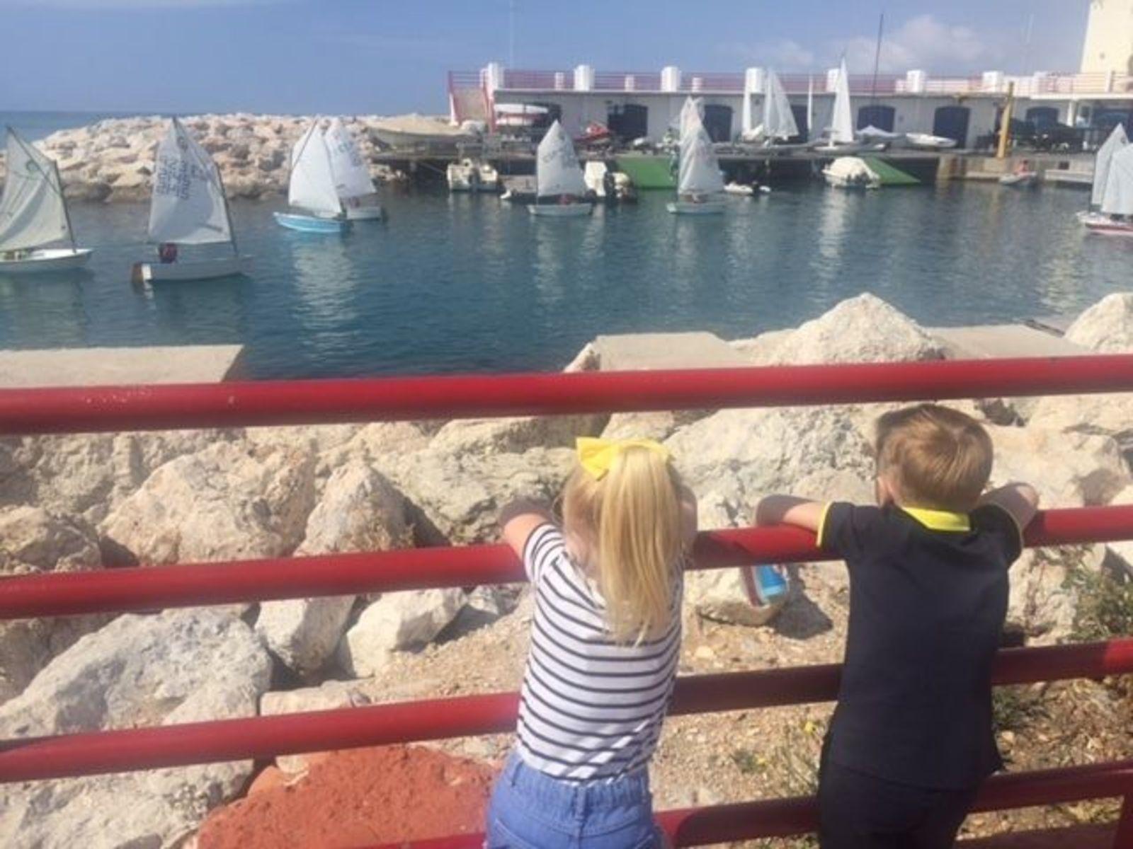 Pier für Passanten