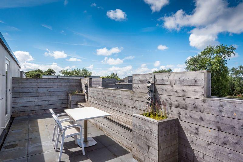 6p. Appartement EE6 Type C aan zee op vakantiepark met binnenzwembad en sauna. Strandresort Schier op Schiermonnikoog