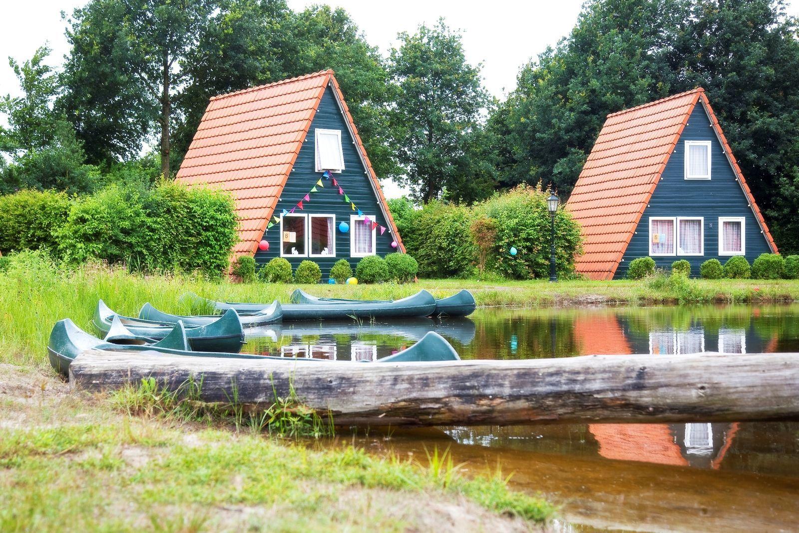 Das Blockhaus in Kombination mit 3 Fischerhäusern