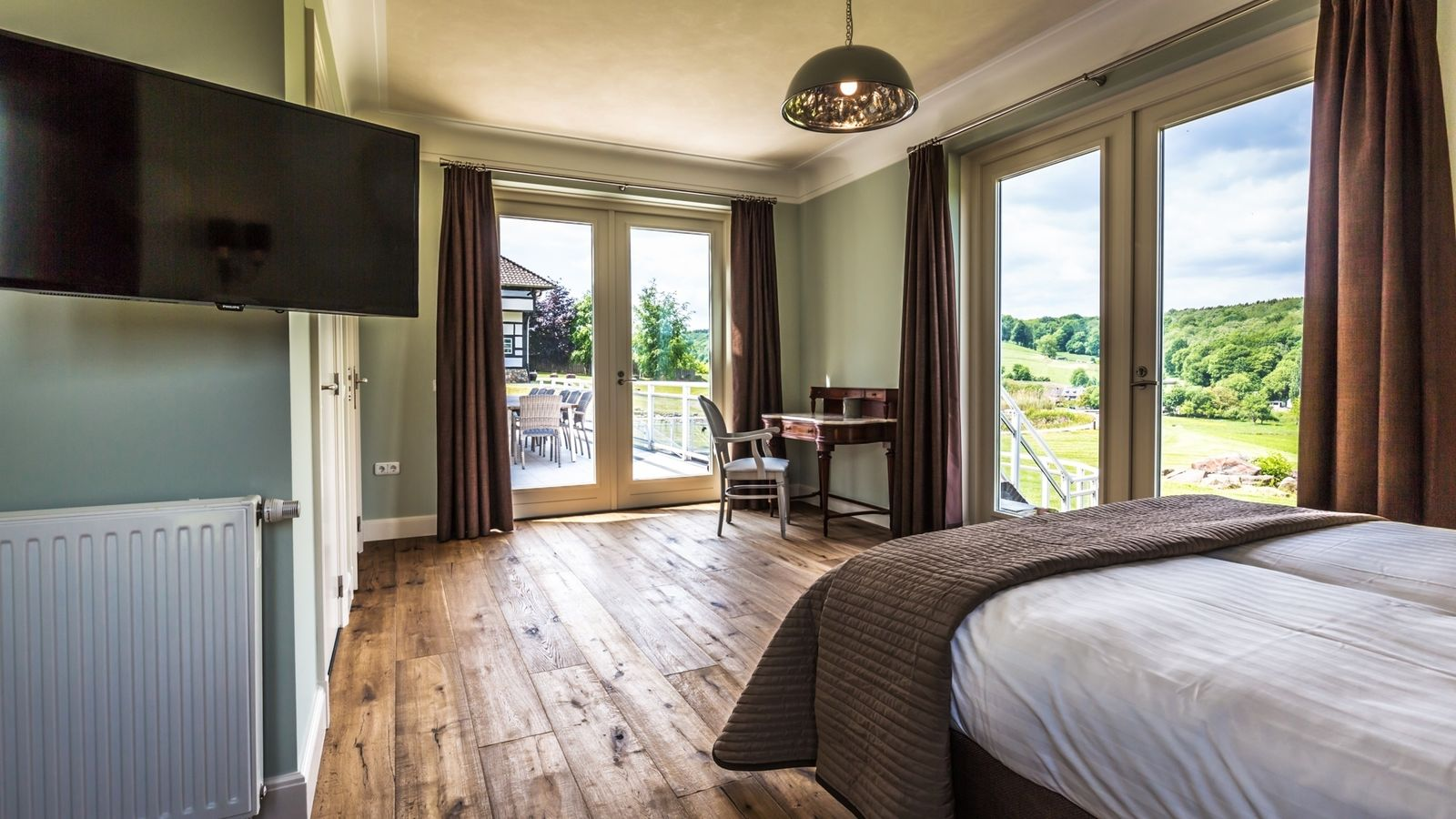 Afbeelding van Witte Villa - luxe vakantiewoning Zuid-Limburg met zwembad en sauna