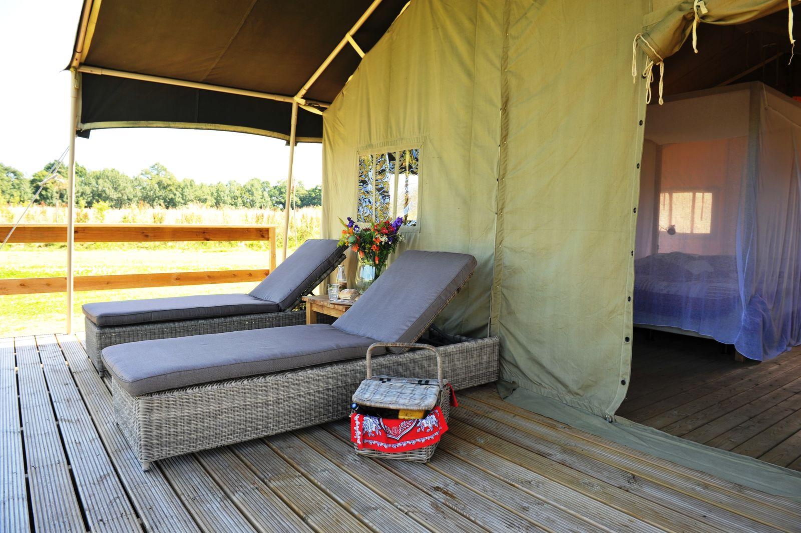 Afbeelding van Twentse Buitenleven - Familie lodgetent - luxe kamperen Overijssel