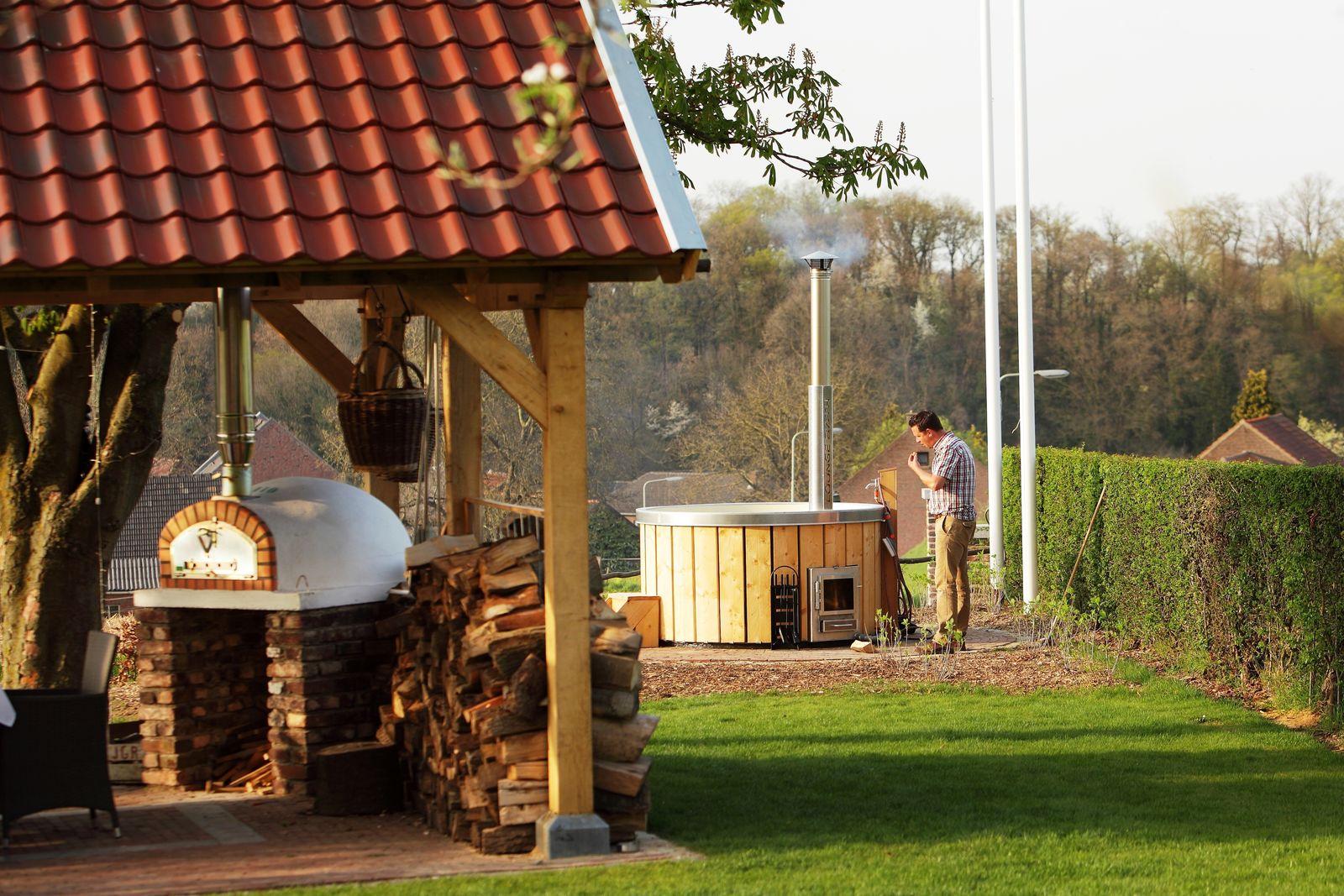 Afbeelding van Landgoed St. Geertruid Notarisappel - luxe vakantiehuis met hottub en sauna in Limburg