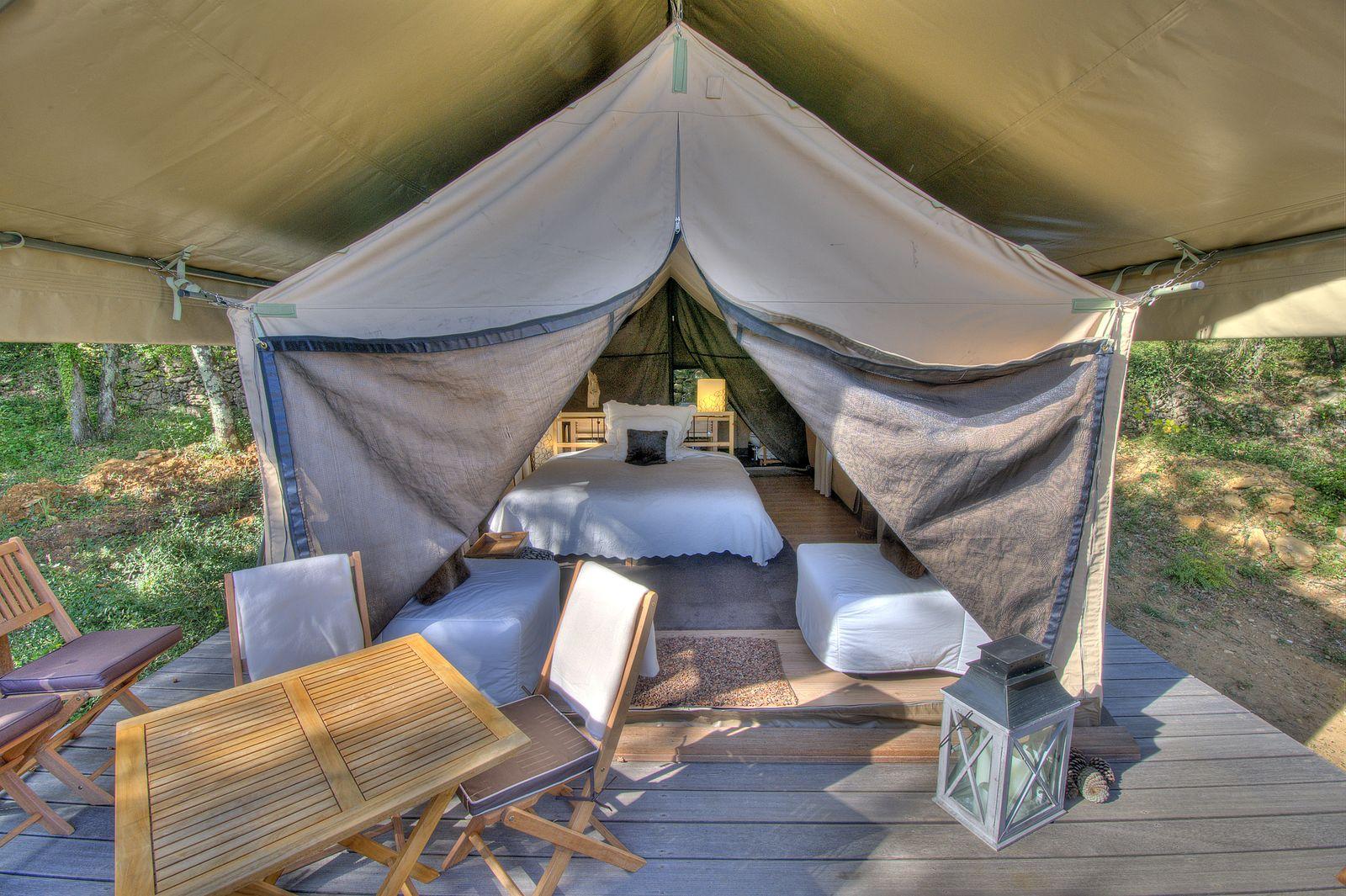 Afbeelding van Le Paradis - safaritent Zuid-Frankrijk luxe kamperen
