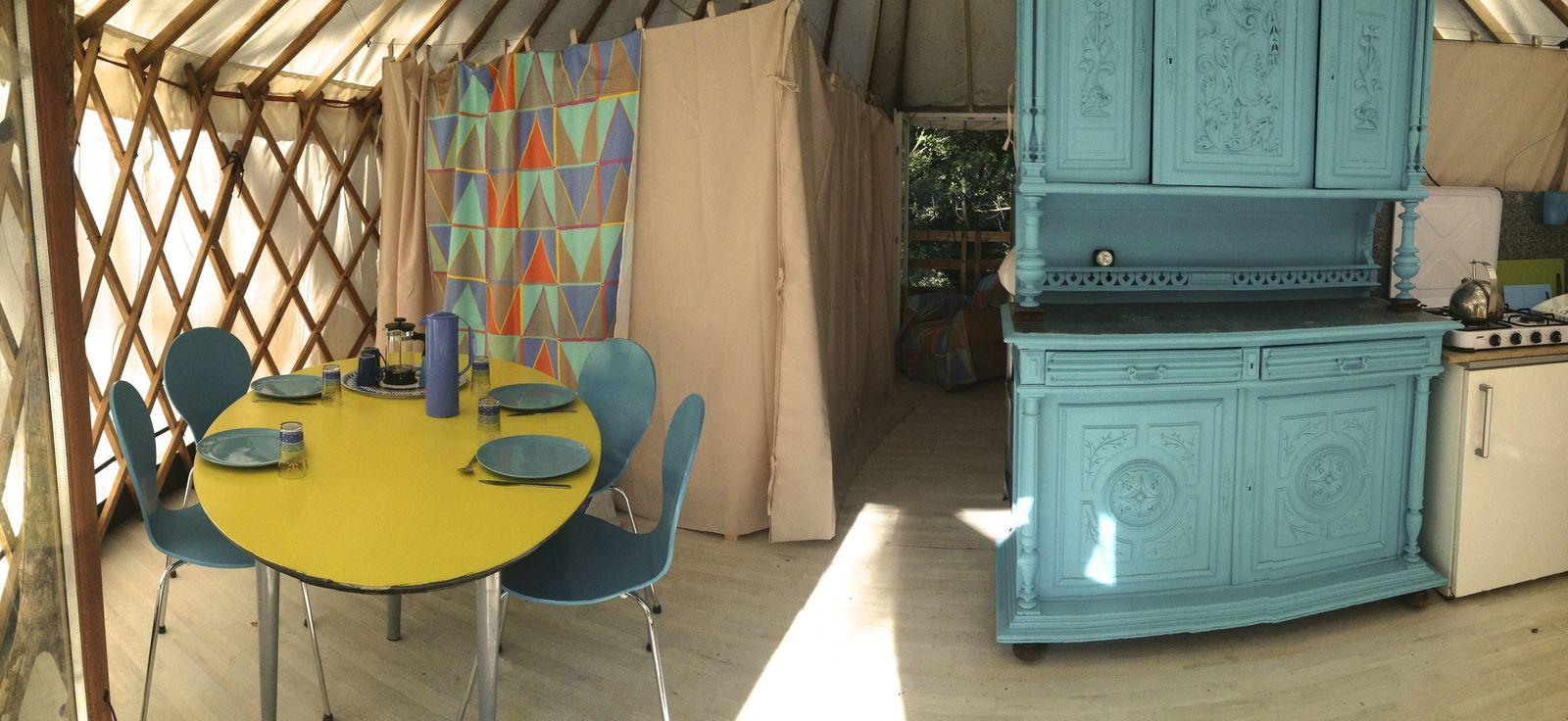 Afbeelding van Cevenolse Mas Yurt - natuurvakantie in Frankrijk