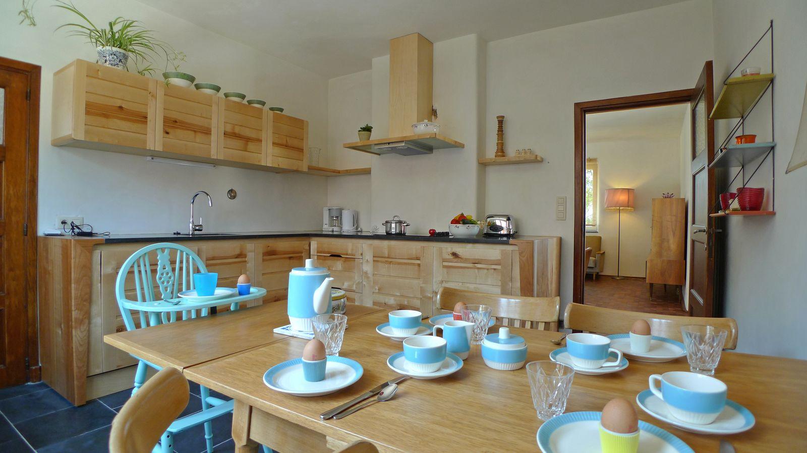 Afbeelding van Vakwerkhuis Nieuwe Huis - vakantiehuis België in retrostijl