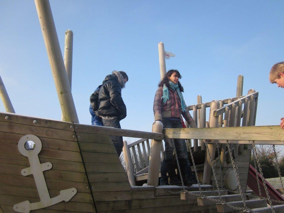 Afbeelding van Kapschuur + 5 vissershuisjes (30 personen)
