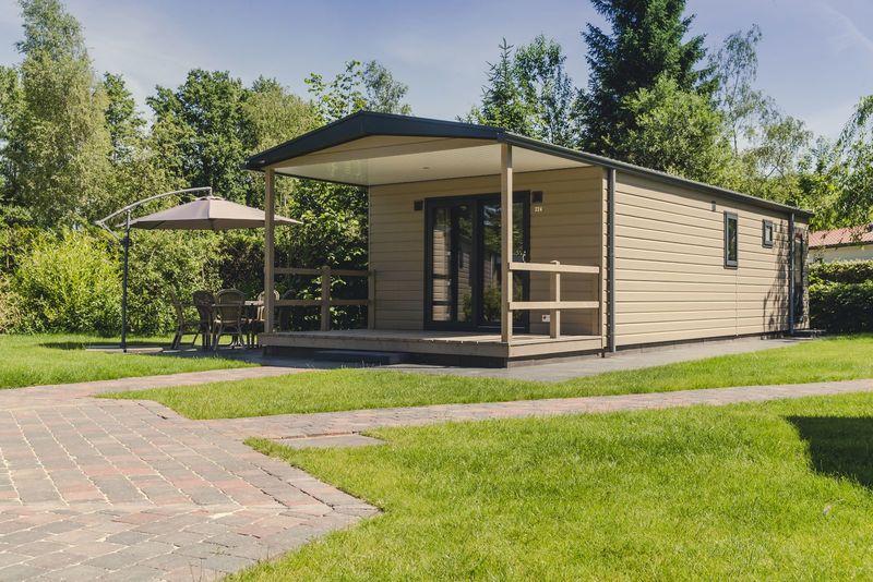 5p Bungalette met veranda op vakantiepark Molke