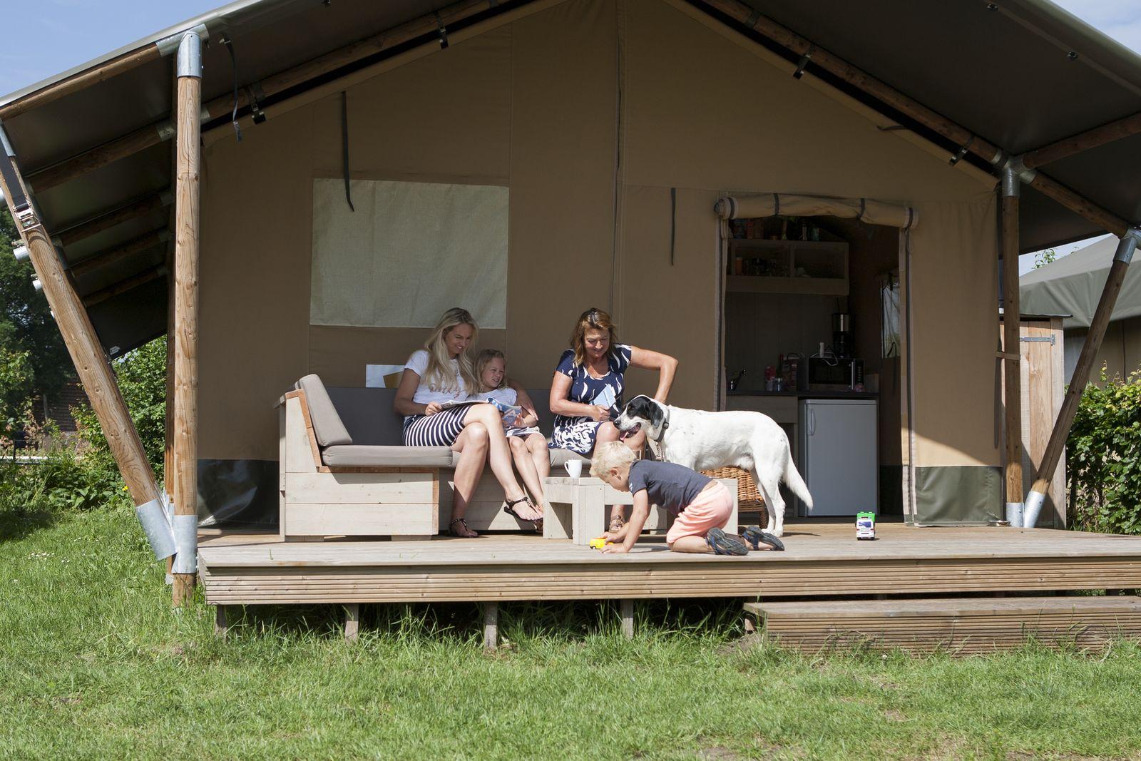 Afbeelding van 6-persoons luxe safaritent