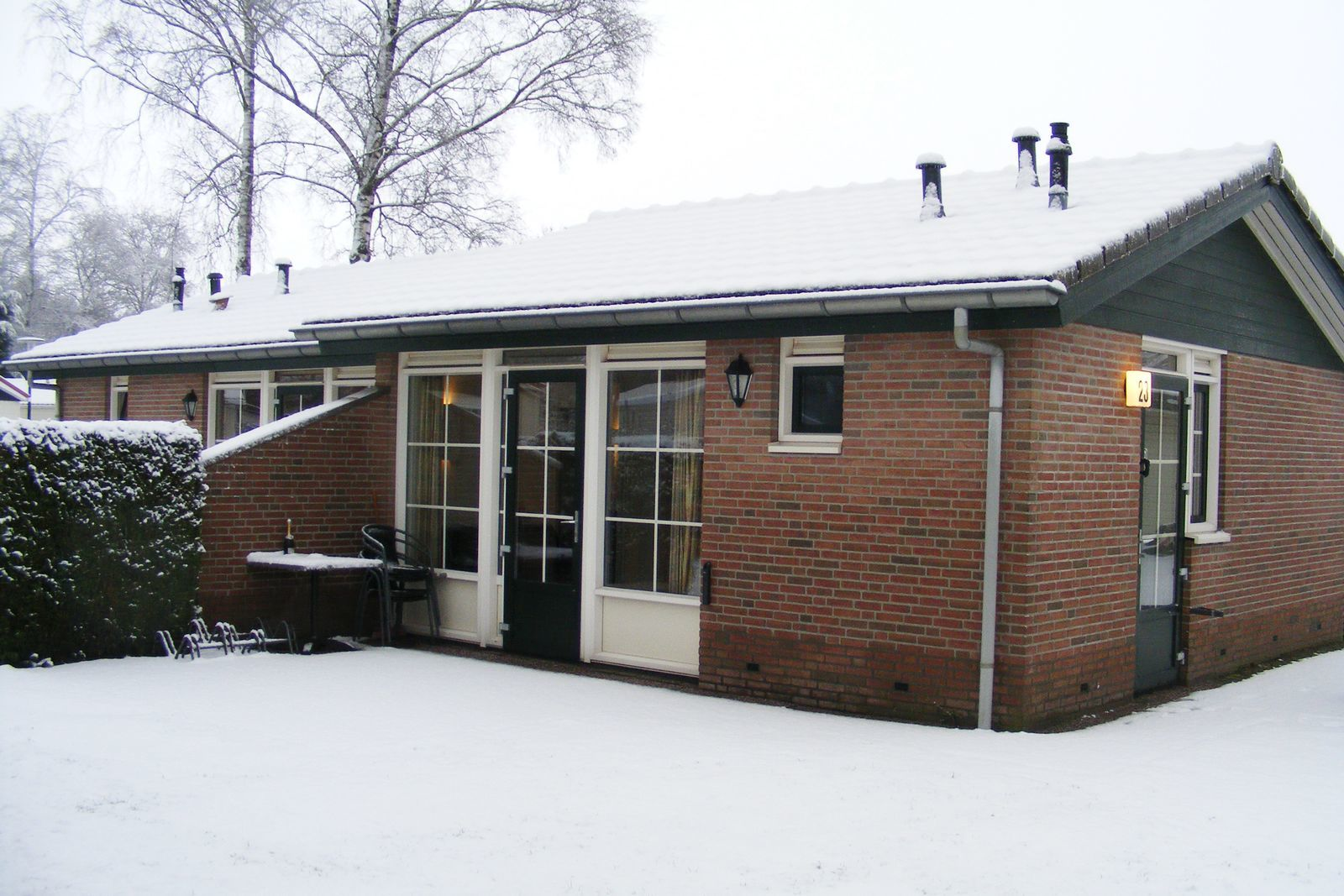 "4-person bungalow ""Heuveltjes"""
