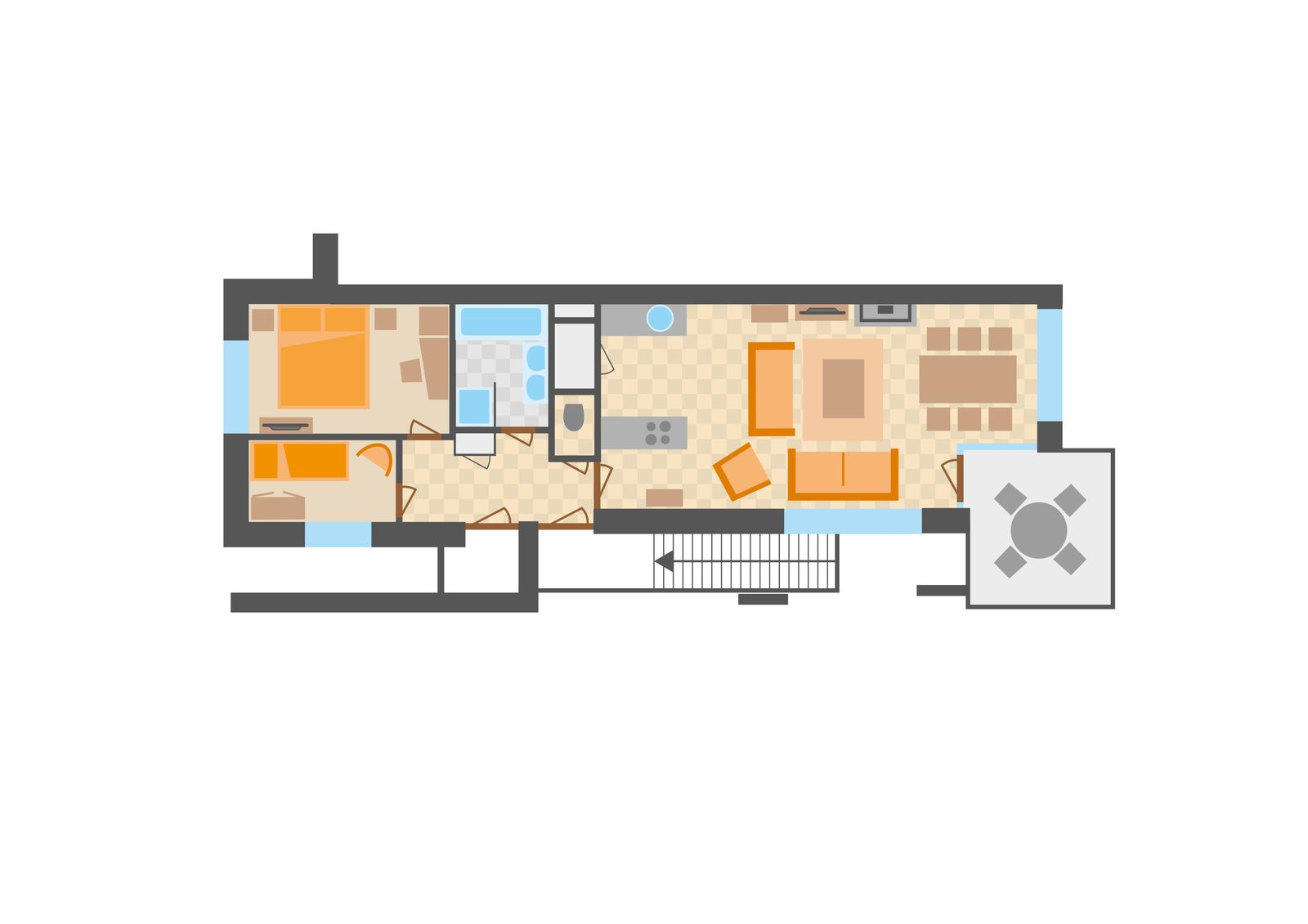 Image of Apartment type 6L