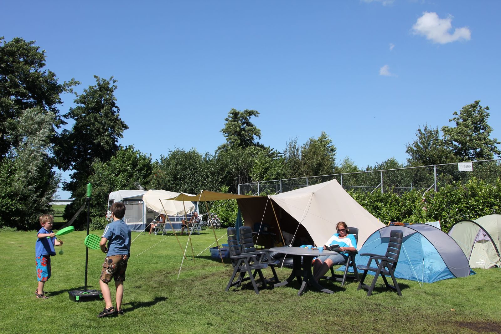 Afbeelding van Kampeerplaats Camper, Caravan of Tent, 6A