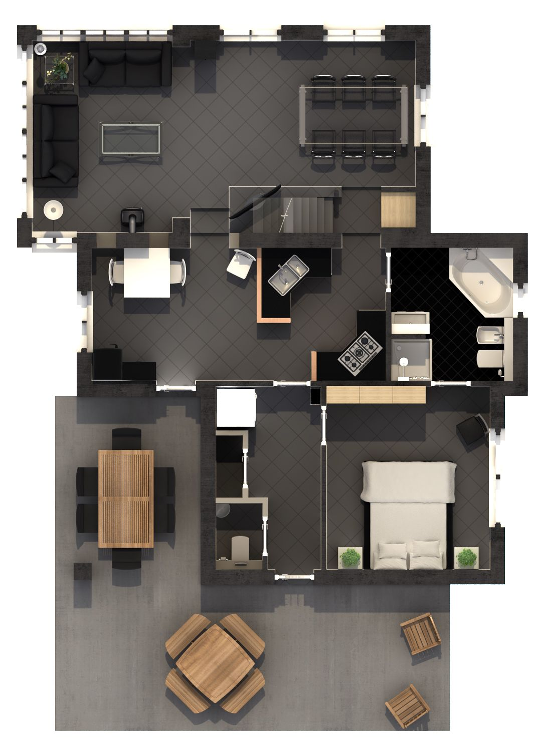 Afbeelding van Type E Luxe Villa