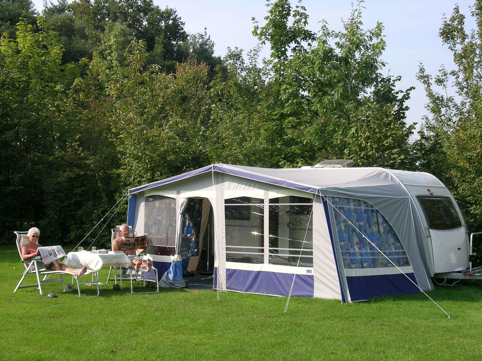 Image of Camping pitch incl. 2 persons, excl. water/electricity