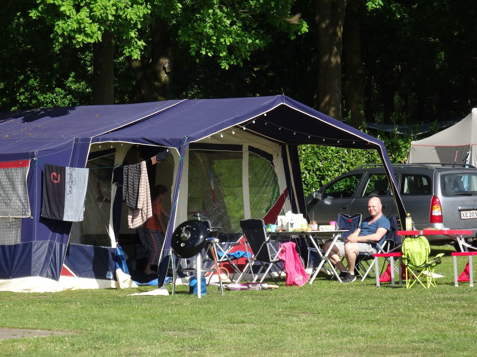 Camping pitch 'Basic'