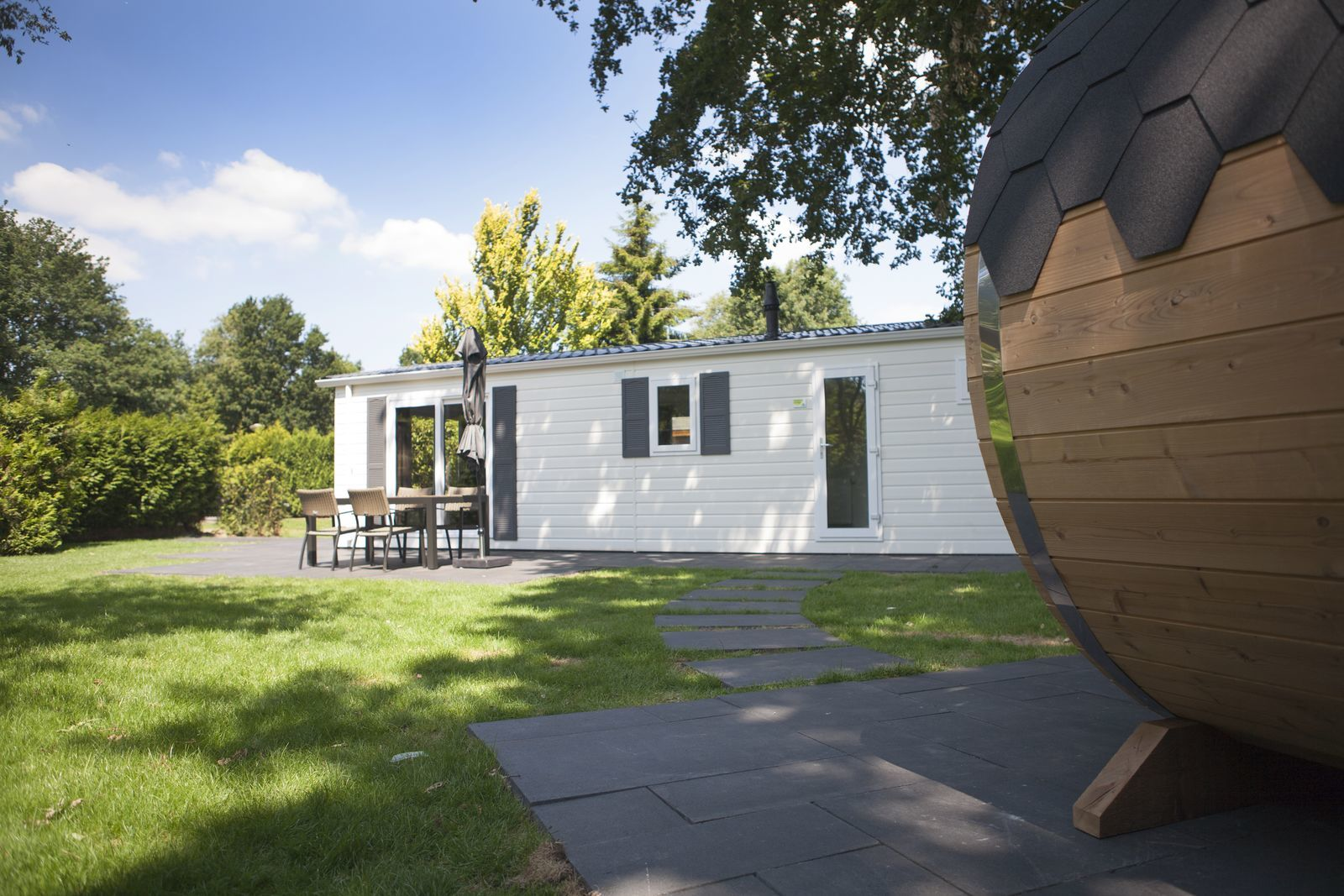 4-persoons Veluwelodge met privé sauna