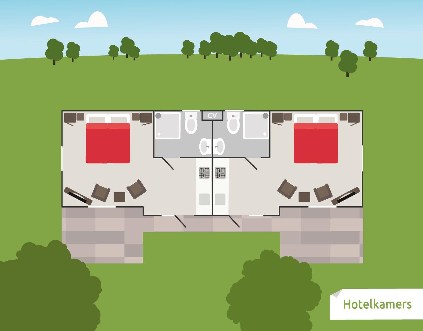 Afbeelding van Hotelkamer