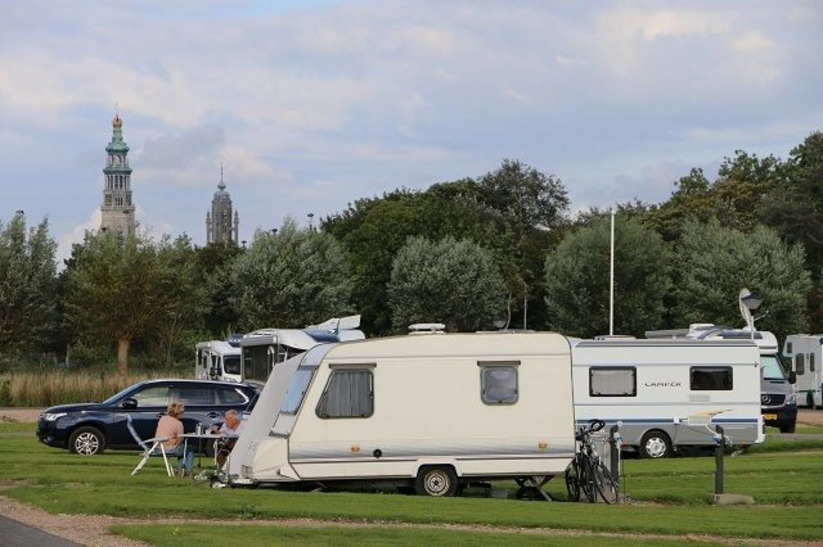 Kampeer- / Camperplaats Comfort