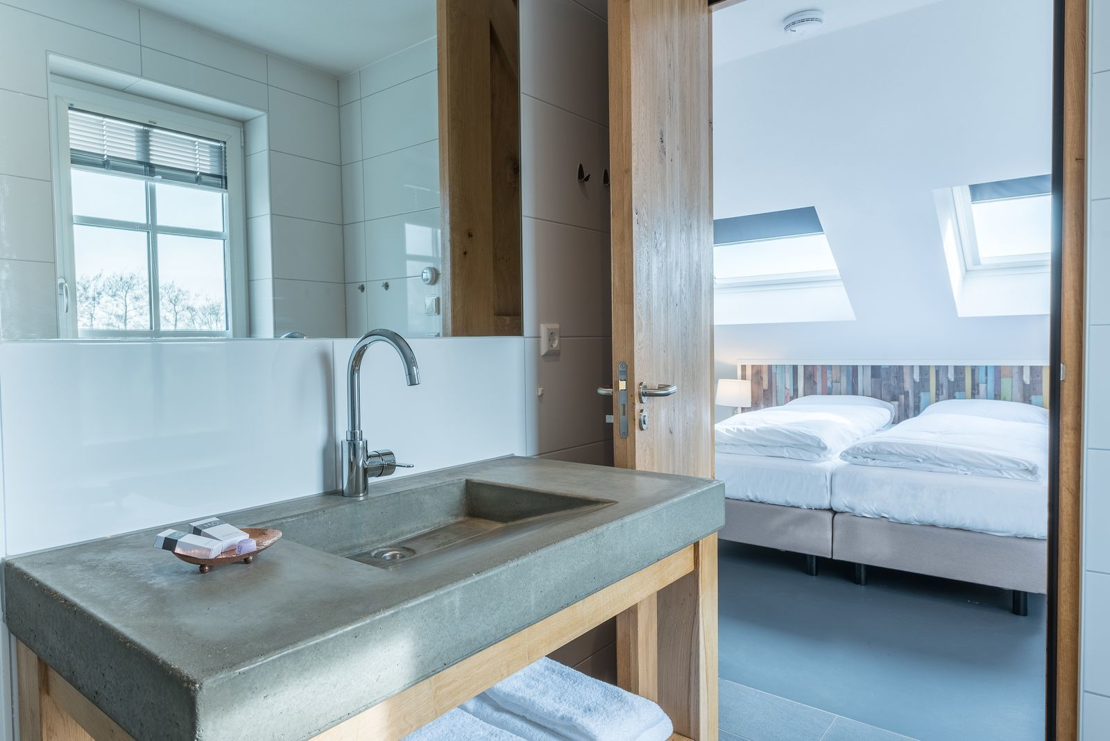 Texels Landleven XXL - luxe vakantiehuis met sauna en ecozwemvijver