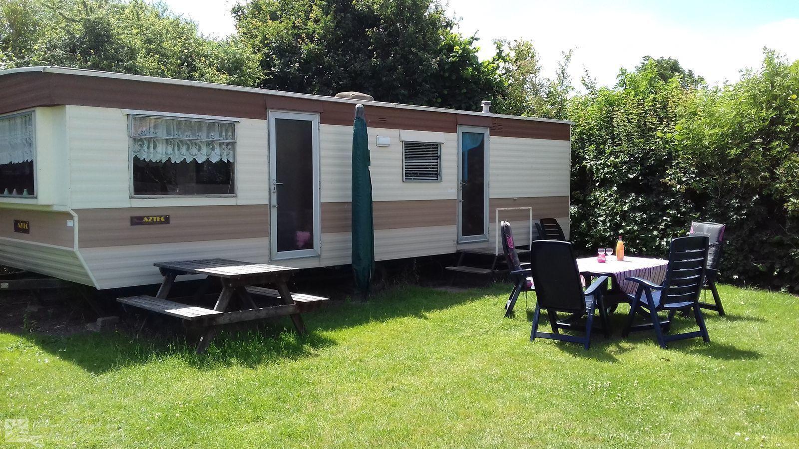 Vakantiehuis  met wifi  Gapinge  4 persoons Stacaravan op minicamping in Gapinge